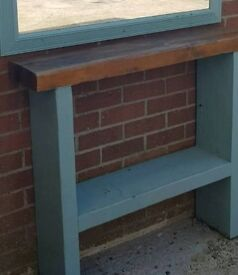 Outdoor shelf/table unit
