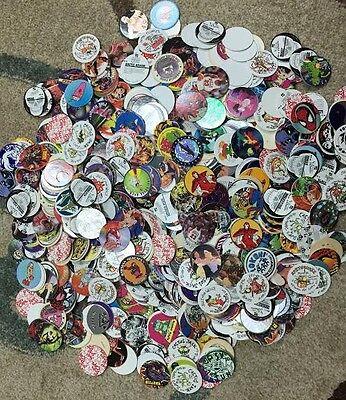 Misc  Pog Lot Of 1000  And 10 Packs Of Slammer And Pogs Inside Packs