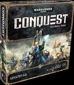 Collection Warhammer Conquest The card game