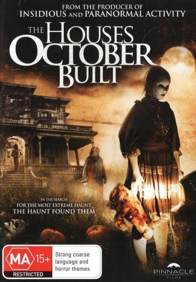 The Houses October Built  - DVD - NEW Region 4