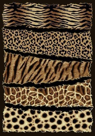 6' X 8' AFRICAN SAFARI ANIMAL SKINS PRINT HIGH QUALITY DENSITY AREA RUG SKIN