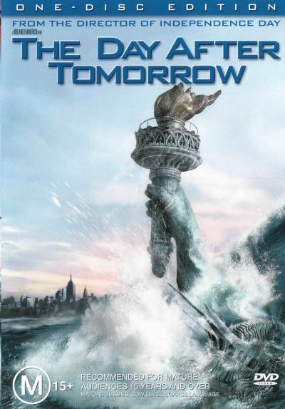 The Day After Tomorrow  - DVD - NEW Region 4