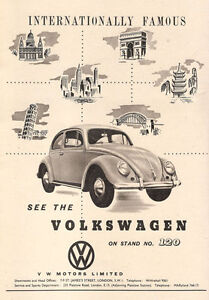 AD83-Vintage-Volkswagon-Beetle-Car-Advertisment-Poster-Print-A3-17-x12