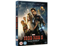 Iron man 1-3 dvds