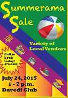 Fun-Filled Family Event:  Summerama Sale