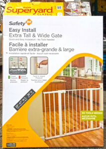 Extra Tall and Wide Baby Gates for Stairs Doorways