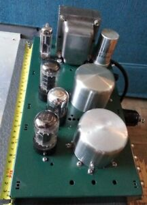 DIY Stereo 6V6 Tube Power Amplifier Project