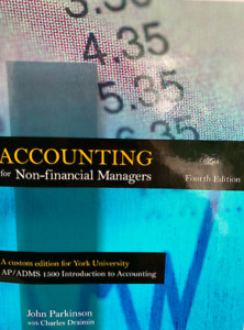 ACCOUNTING FOR NON-FINANCIAL MANAGERS 4TH EDITION