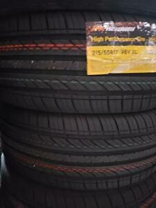215/55R17 BRAND NEW SET ALL SEASON TIRES HEADWAY 215/55/R17 TIRE 215 55 17