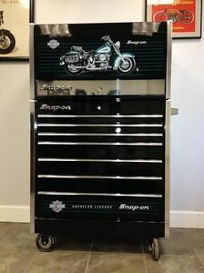 coffre outils snap-on special edition  harley