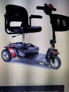 Pride Go-Go Elite Traveller Plus HD 3-Wheel Travel Mobility