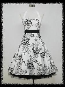 dress190-WHITE-50s-HALTER-FLOCK-TATTOO-ROCKABILLY-COCKTAIL-PARTY-PROM-DRESS-8-26