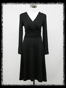 dress190-BLACK-40s-50s-MARILYN-MONROE-STYLE-ROCKABILLY-RETRO-VINTAGE-DRESS-14-20