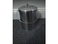 Stainless Steel Food Waste Bin
