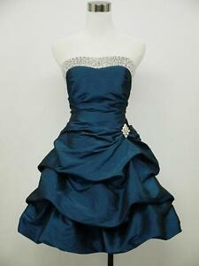 dress190-DARK-BLUE-SATIN-STRAPLESS-PLUS-SIZE-SPARKLE-PROM-COCKTAIL-BALL-DRESS