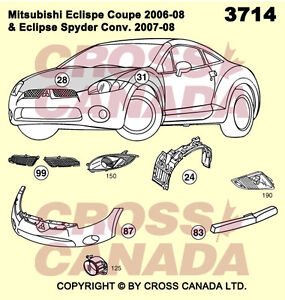 Mitsubishi Eclipse Brand New Replacement Panels @ Brown's Auto