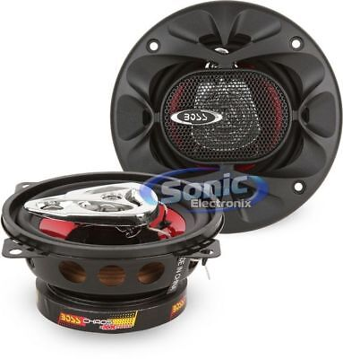 BOSS Audio CH4230 225 Watt, 4 Inch, Full Range, 3 Way Car Speakers System (Pair)