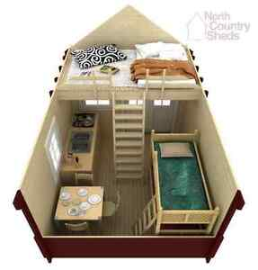 Cottage Cabins and Bunkies (Kits & Prefab options available)