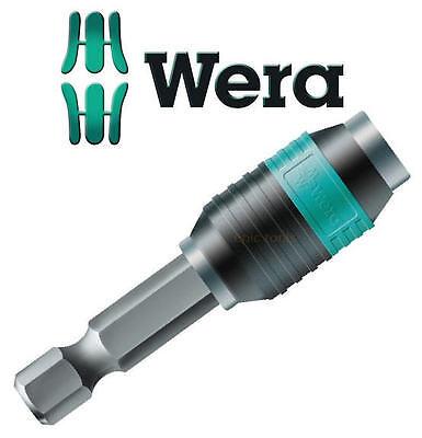 WERA 50mm Length Rapidaptor Bi-Torsion Magnetic Screwdriver Bit Holder, 052502