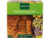 Wanted ALDI wooden decking tiles