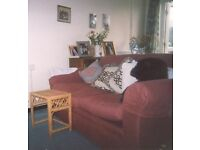 WANTED 2 SEATER PLAIN MAROON SOFA WITH PADDED PLAIN BACK AND THICK AREMS