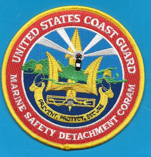 COAST GUARD USCG MARINE SAFETY DETACHMENT CORAM LIGHTHOUSE TRIDENT (FIRE)