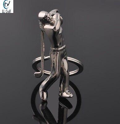 NEU Golf Schlüsselanhänger Spieler mit Golfschläger / Geschenk / Golfgeschenk
