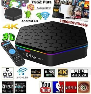 T95Z Plus Android TV Box  6.0.1