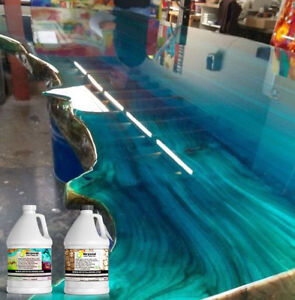 EPOXY RESIN FOR ARTWORKS, TABLETOPS AND COUNTERTOPS