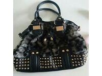 Ladies furry bag