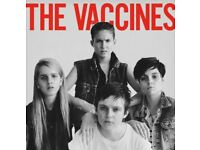 the vaccines - 2 tickets - face value - Bristol o2 3rd April