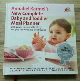Hardback, Annabel Karmel baby/toddler meal planner:Excellent condition