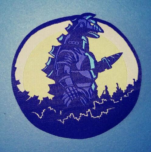 Mechagodzilla PATCH - Godzilla, Gojira, Kaiju movie monster - woven iron-on