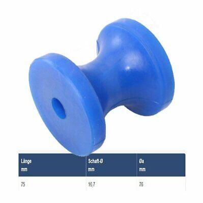 Azul PU Rueda de Arco Como Accesorio Para Remolque Embarcaciones Steelando