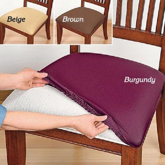 Stretch Seat Covers SET OF 2  Cover Protector (Spills Stain Torn) Stretchable Furniture