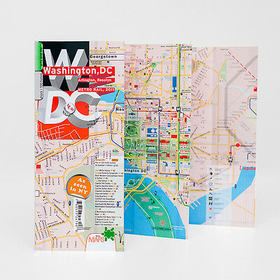 Map Laminated Washington DC [Best Seller]