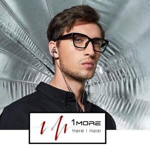 REFURB 1MORE IN-EAR HEADPHONES E1010 186665749 Quad Driver W/ Apple iOS/Android Compatible Microphone/Remote GRAY REF...