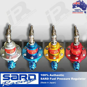 SARD Racing Fuel Pressure Regulator RED 100% Authentic
