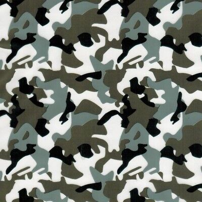 Hydro Dipping Water Transfer Hydrographic Film Army Camo Dark Grey 1m