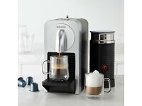 Nespresso Prodigio Coffee Maker with Milk Frother and Bluetooth