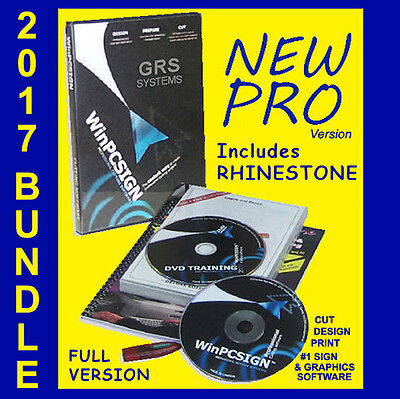 Coreldraw Compatible 1 Plotter Software Winpc-sign Pro 14 Rhinestone Program