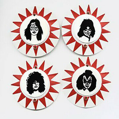 Bally Kiss Pinball Machine Pop  Bumper Cap Set Licensed