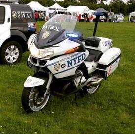 BMW r1200rt P Police Bike