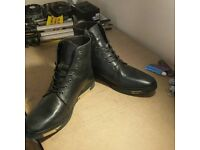 Black Size 12 Boots - Barely Worn
