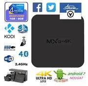 MXQ-4k TV BOX 4K Wifi HDMI Android 7.0 Smart Set-Top Box Belmore Canterbury Area Preview