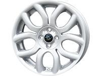 """Genuine Brand New MINI Flame Spoke 17"""" Inch Alloy Wheels x 4"""