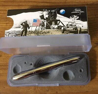 NIB Fisher Space Pen #400 / The Original Classic Chrome Bullet Pen