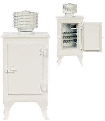 1920s Monitor Oberteil Kühlschrank - Puppenhaus 1/12 Maßstab Miniatur Eisfach ()