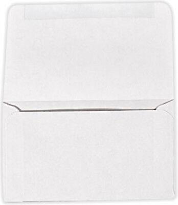 6 3/4 Remittance Envelopes (3 5/8 x 6 1/2 Closed) - 24lb. Bright White 1000 Qty. Brightness 1000 Envelopes