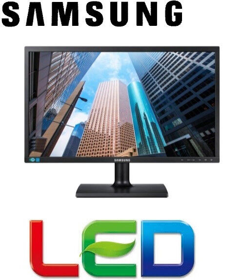 "24"" Samsung LED Monitor (Black) - Boxed"